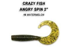 Силикон CRAZY FISH ANGRY SPIN 2