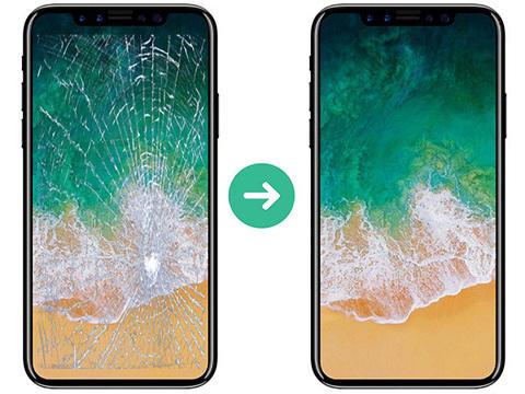Замена разбитого стекла на дисплее iPhone XS Max