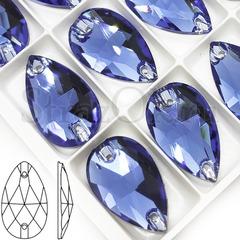 Купить пришивные стразы Denim Blue, Drope синие в Краснодаре
