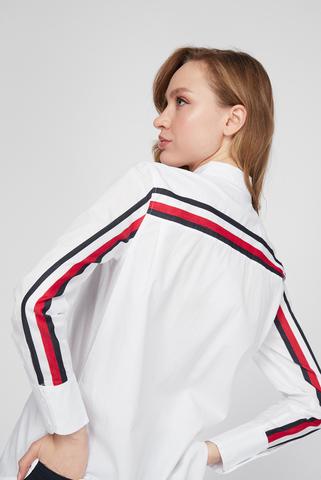 Женская белая рубашка COT POP MONICA GF SHIRT LS Tommy Hilfiger