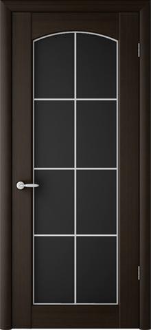 Дверь ALBERO Верона Классик, триплекс (венге, остекленная ПВХ), фабрика Фрегат