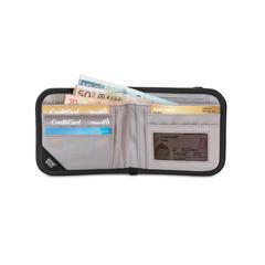 Кошелек Pacsafe RFIDsafe V100 Серый камуфляж - 2