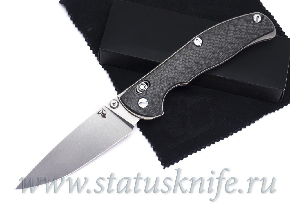 Нож Широгоров Табарган 100NS S35VN CF карбон