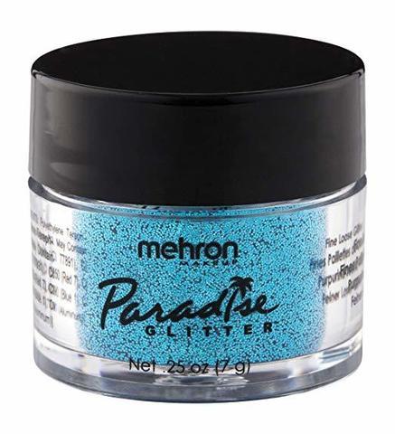 MEHRON Рассыпчатые блестки Paradise Glitter, Blue (Синий), 7 г