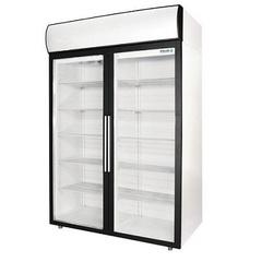 Шкаф холодильный POLAIR DM114-S (1402х945х2028, 0,35кВт, 220В),  +1…+10 °C,  1400л