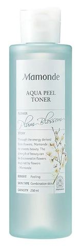 Mamonde Пилинг-тонер с экстрактом цветов сливы Aqua Peel Toner, 250ml