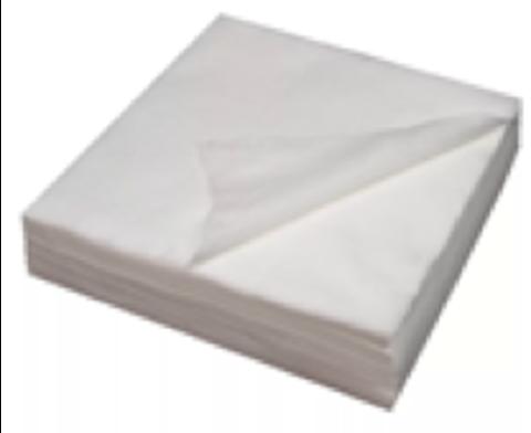 Салфетка в сложении 30*40 белая 45 гр. 50 штук в упаковке.