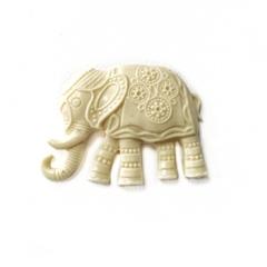 Д0114 Пластиковый декор Слон индийский.