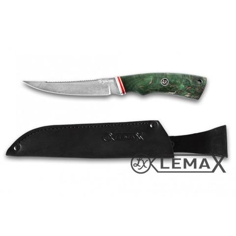 Нож Рыбак-2 Булат, стабилизированная карельская берёза