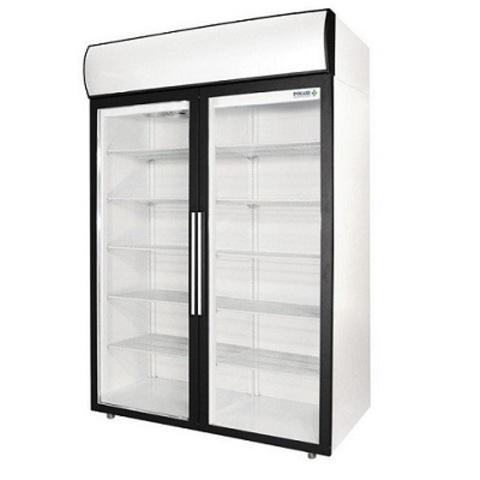 Шкаф холодильный POLAIR DM110-S (1402х710х2028, 0,75кВт, 220В),  +1…+10 °C,  1000л