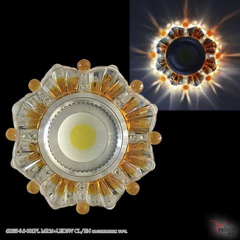 42235-9.0-001PL MR16+LED3W CL/BN светильник точ.