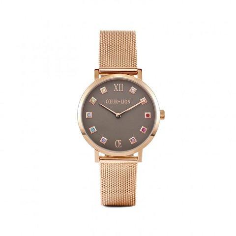Часы Rosegold-Brown 7611/70-1636