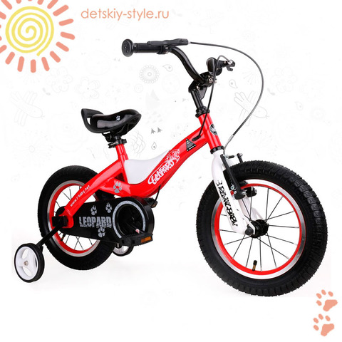 "Велосипед Royal Baby ""Leopard Steel 14"" (Роял Беби)"