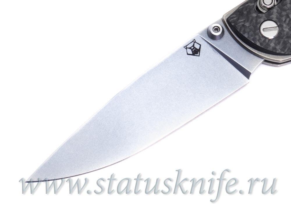 Нож Широгоров Табарган 100NS S35VN CF карбон - фотография