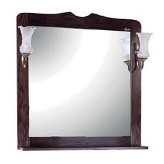 Шкаф-зеркало Onika Сен-Луи 80.00 темное дерево