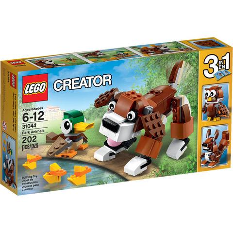 LEGO Creator: Животные в парке 31044 — Park Animals — Лего Креатор Творец Создатель