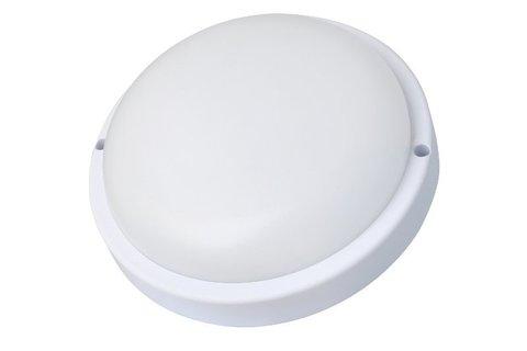 Светодиодный влагозащищенный светильник с микроволновым датчиком UltraFlash LBF-0301S CO1 (IP54)