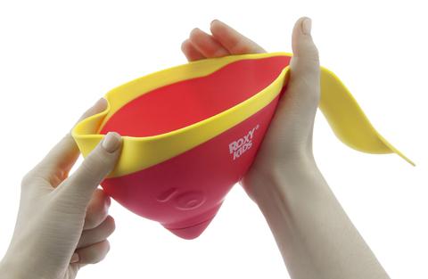 Ковш для ванны Flipper с лейкой, Цвет коралловый.