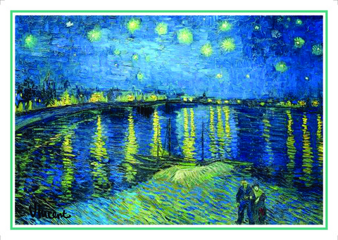 Açıqca\Открытки\Giftcard Van Gogh 6
