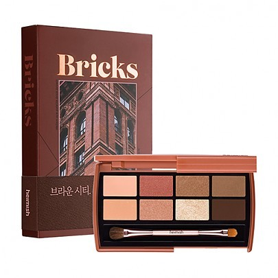 Палетка теней Heimish Eye Palette Brick Brown