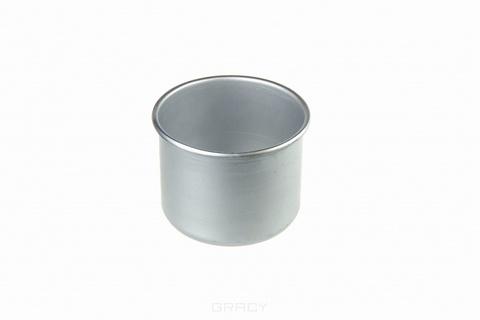Банка алюминиевая для горячего воска или парафина, 450 мл