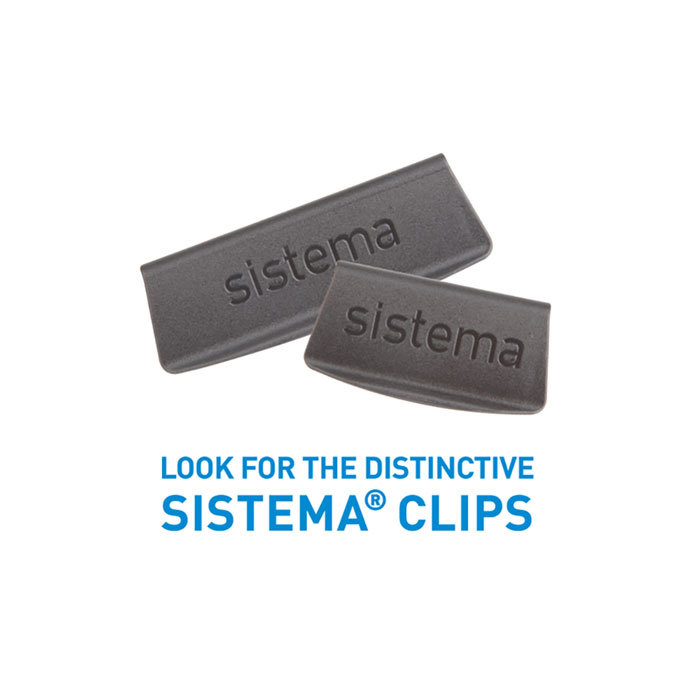 """Набор герметичных контейнеров Sistema """"Brilliance"""", Тритан, 920 мл, 2шт."""