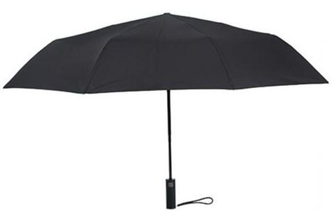 Зонт Xiaomi 90 Points с светодиодным фонариком Automatic Umbrella with LED Flashlight, черный