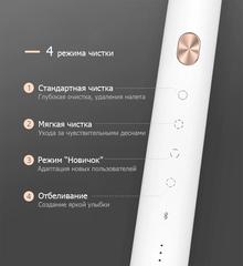 Электрическая зубная щетка Xiaomi Soocas X3U Global Белая (1 насадка в комплекте)