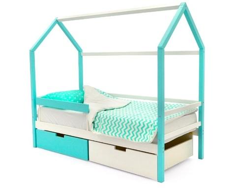 Кровать-домик SVOGEN массив сосны