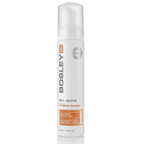 Bosley MD Revive Оранжевая линия: Уход-активатор от выпадения и для стимуляции роста окрашенных волос (BosRevive Color Safe Thickening Treatment), 200мл