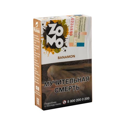 Табак ZOMO Banamon (Банан Корица Выпечка) 50 г
