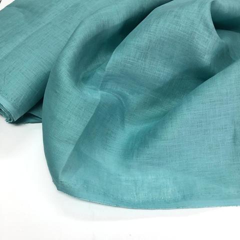 Полотно Lin Finesse col. 13 turquoise