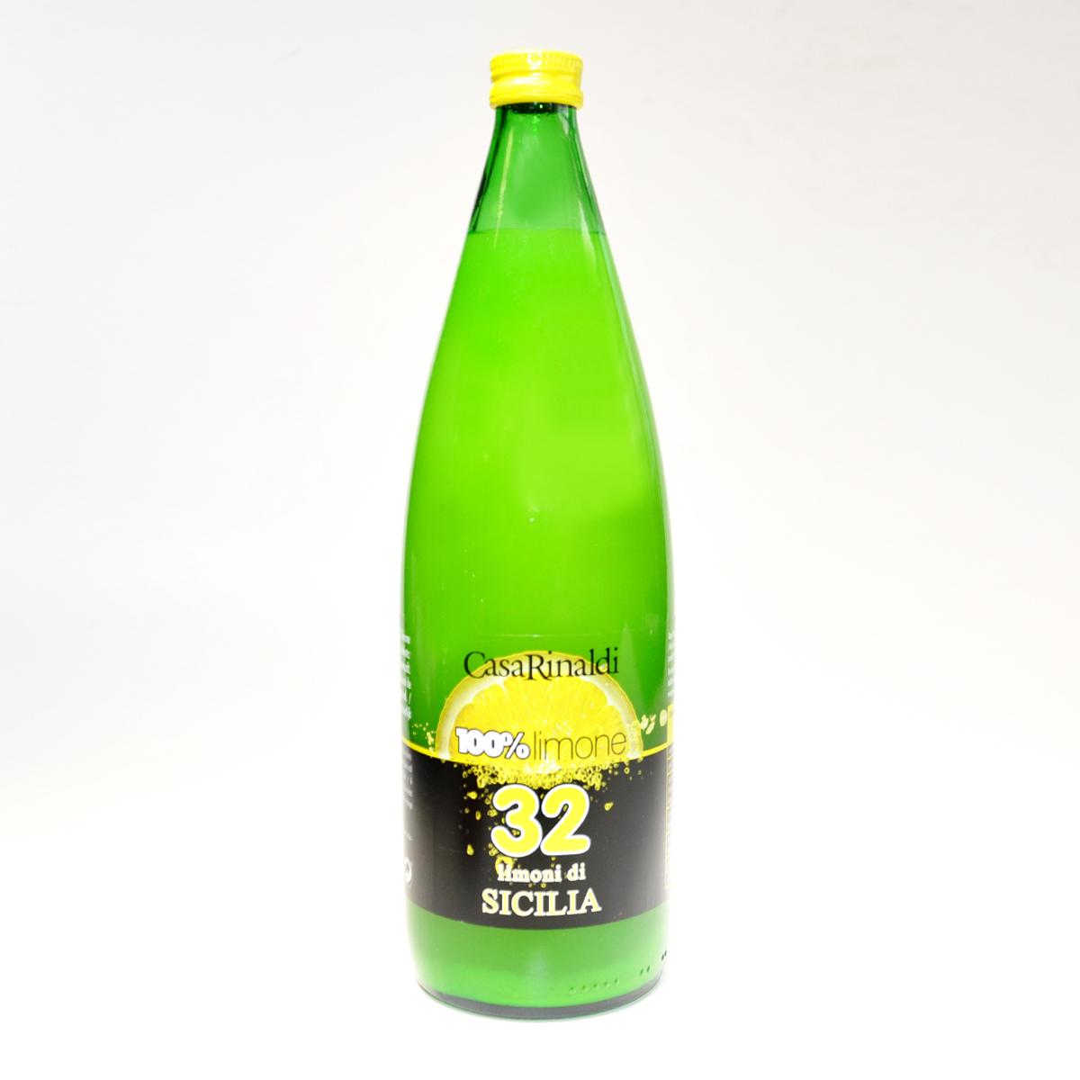 Сок лимонный прямого отжима из сицилийских лимонов  100%  Casa Rinaldi 1л
