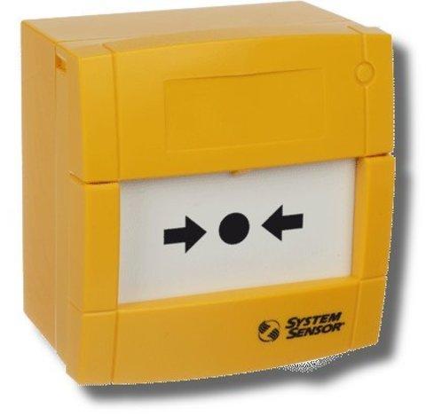 Элемент дистанционного управления электроконтактный УДП3A-Y000SF-S214-01 (желтый)