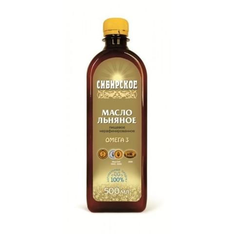 Льняное масло Сибирское