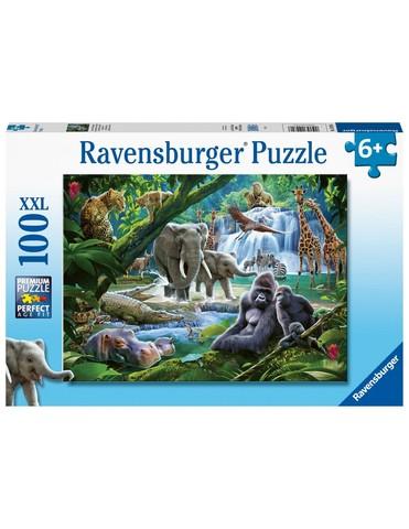 Puzzle Jungle Animals 100 pcs