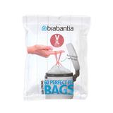 Пакет пластиковый 3 л 60 шт, артикул 116803, производитель - Brabantia