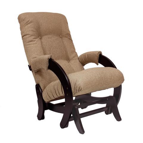 Кресло-глайдер МИ Модель 68, венге, ткань Malta 03 А