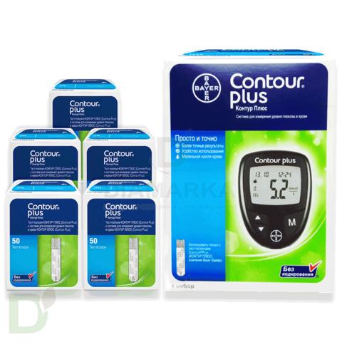 Тест-полоски Контур ТС (Contour TS) 50 шт, Ascensia Diabetes Care Holdings AG, Switzerland