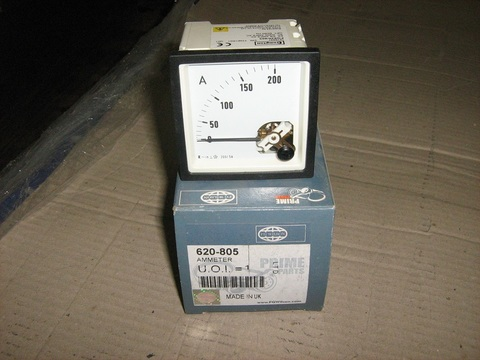 Амперметр 0-200А / METER AMP 0-200A D72 5A CT EURODIN АРТ: 620-805