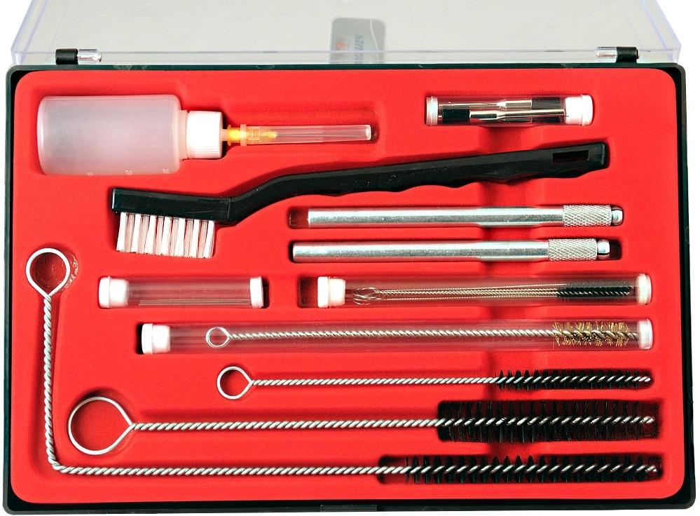 Чистка аэрографа и краскораспылителя 490022 CLEAN SET 22 - Набор для чистки краскопульта 22 предмета clean_set_22.jpg