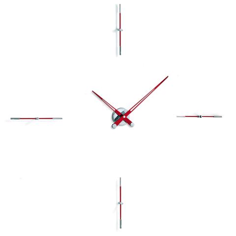 Часы Merlin i 4 хром-красный