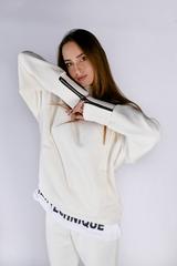 Белый спортивный костюм женский на флисе магазин