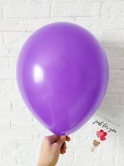 Воздушный шар фиолетовый