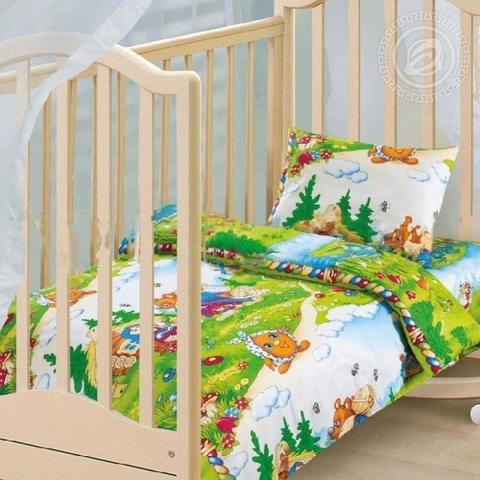 Детское постельное бельё В гостях у сказки БЯЗЬ ЯСЕЛЬНАЯ