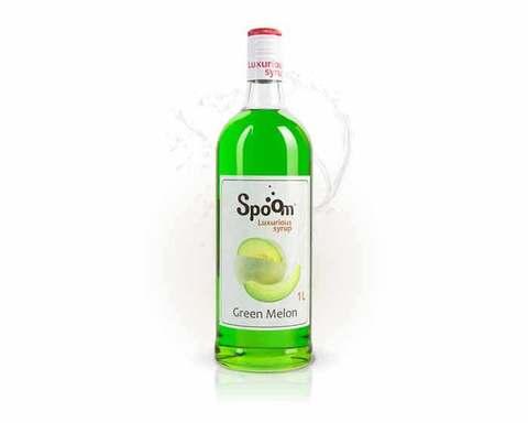 Сироп Spoom Зелёная дыня, 1 л (Спум)