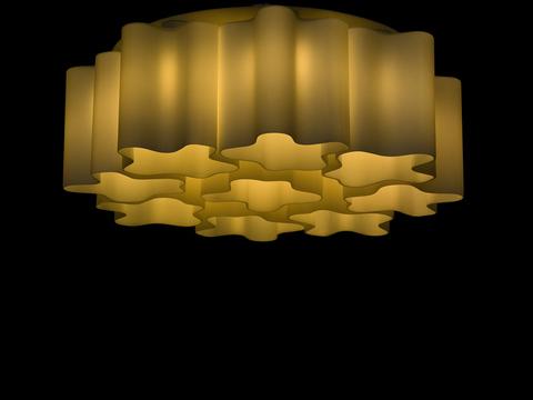 люстра потолочная Logico 9 x 360°