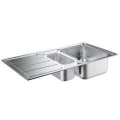Мойка кухонная с двумя чашами Grohe K500 31572SD0 фото