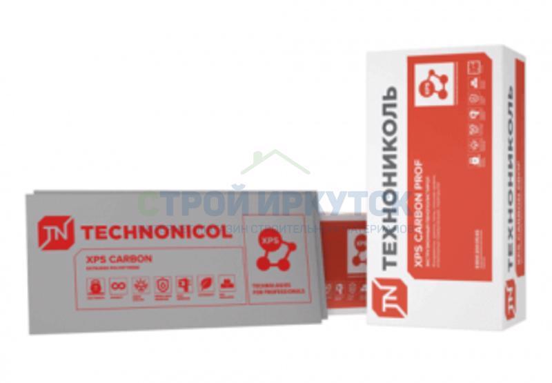 Экструдированный пенополистирол Экструдированный пенополистирол (XPS) ТехноНИКОЛЬ Carbon Prof 1180х580х50 мм L-кромка 847ccec4c25f6257077d2e79e01b95f8