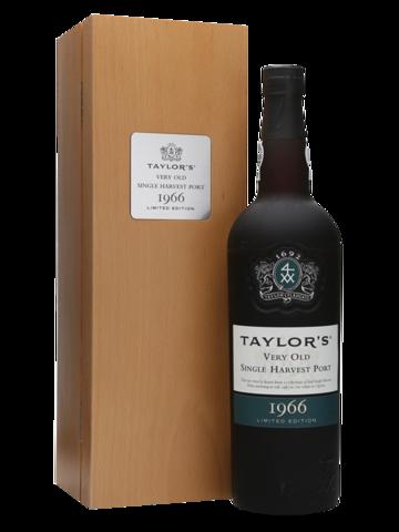 Taylor's Very Old Single Harvest Port в деревянной подарочной упаковке